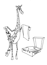 #919 Character, Giraffe Vendor